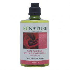 Rose Geranium Bath & Shower Cream