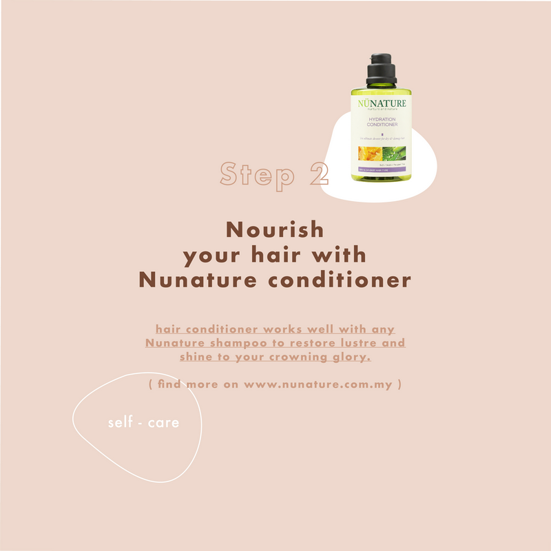 Nourish your hair with Nunature conditioner